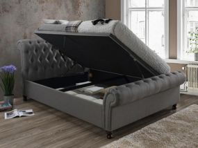 Castello Side Ottoman King Size Bed