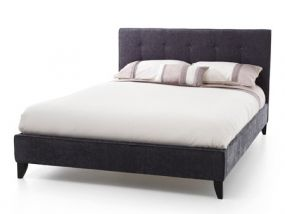 Serene Chelsea Charcoal Super King Size Bed