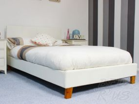 Tivoli White Small Double Bed