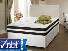 Wise Choice Boston Small Double Divan