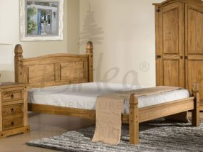Corona King Size Bed