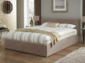 Evelyn Super King Size Ottoman Bed
