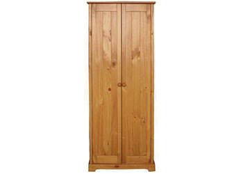Baltic Pine 2 Door Wardrobe