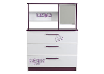 Parisot Fashion 3 Drawer Chest