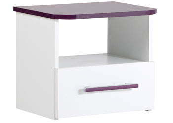 Parisot Fashion Bedside Cabinet
