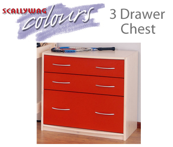 Scallywag 3 Drawer Chest